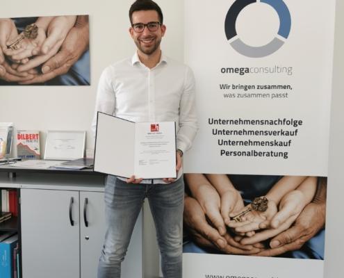Gratulation zur erfolgreichen Masterarbeit mit omegaconsulting! 7
